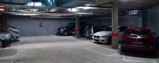 Parking en el centro de Valladolid